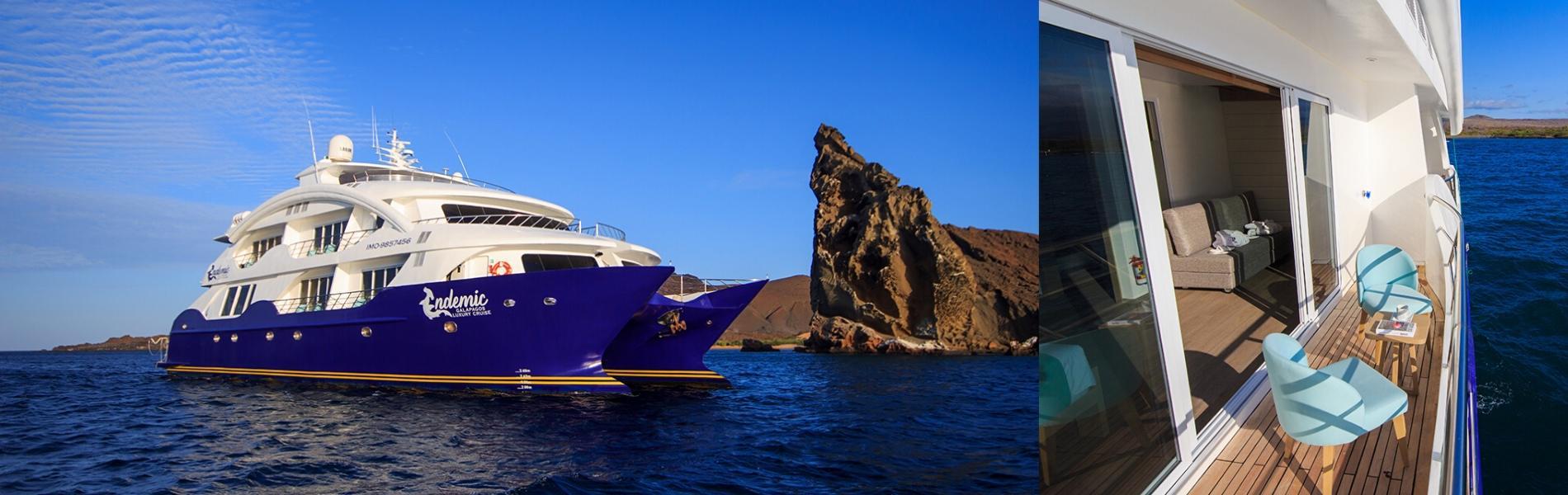 M/C Galapagos Endemic Cruise