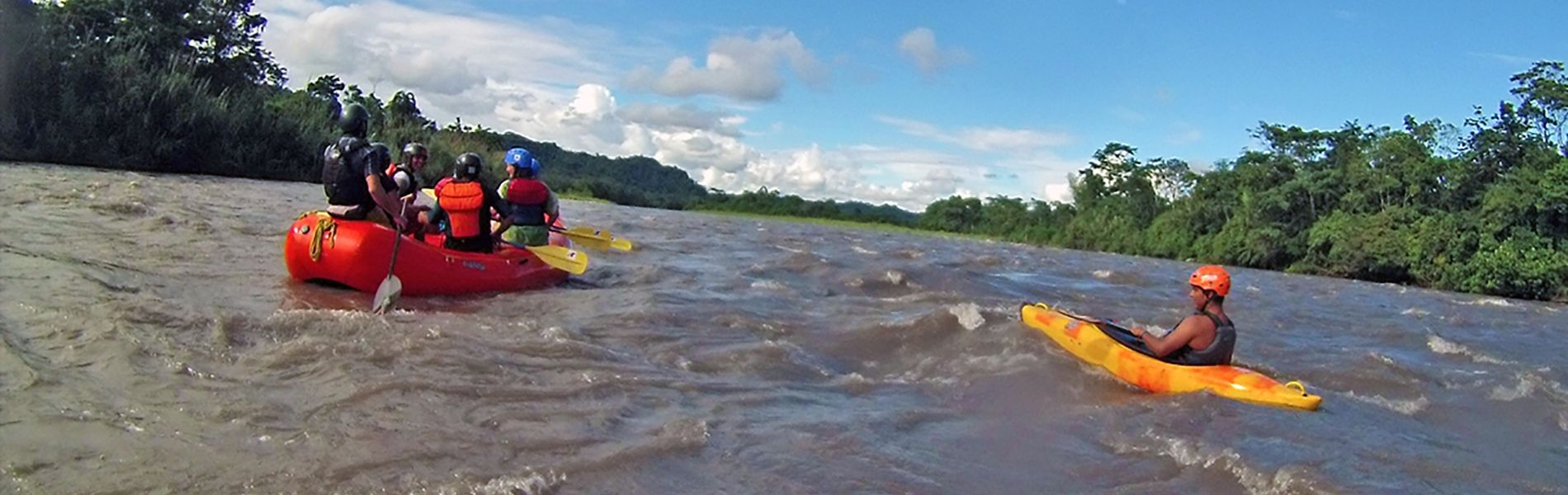 Rafting Jatunyacu River