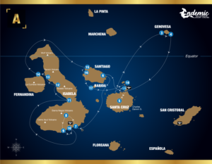 ITINERARY ENDEMIC CRUISE