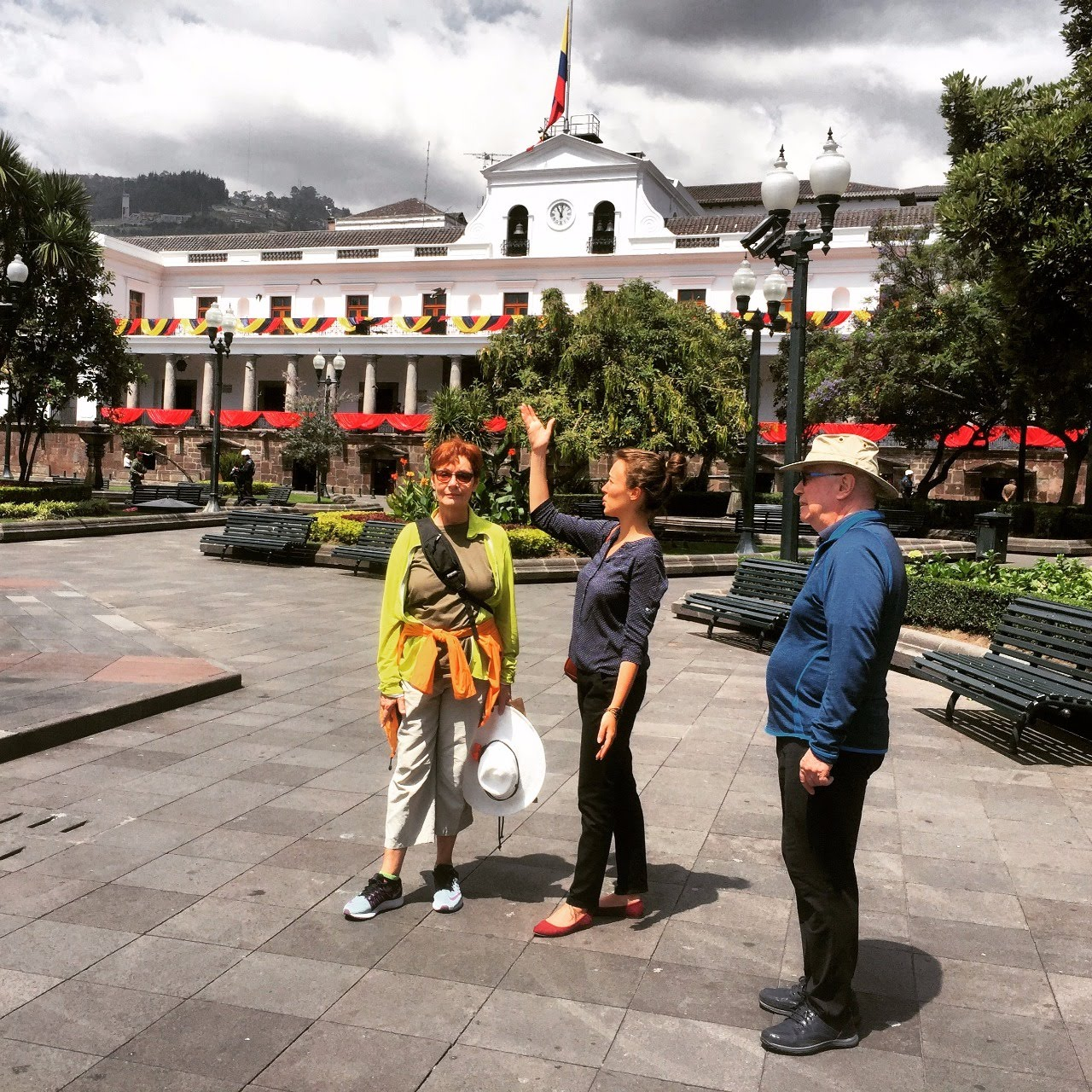 Presidential-palace Quito