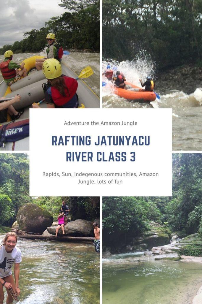 rafting jatunyacu river tena