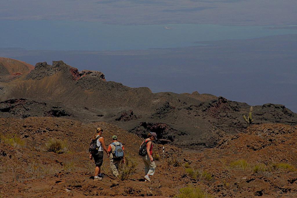 Galapagos Volcan Sierra Negra