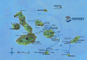 Galapagos Odyssey Itinerary A