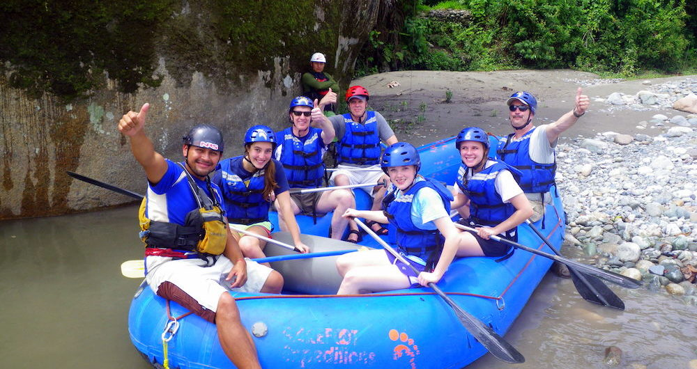 Napo River Rafting