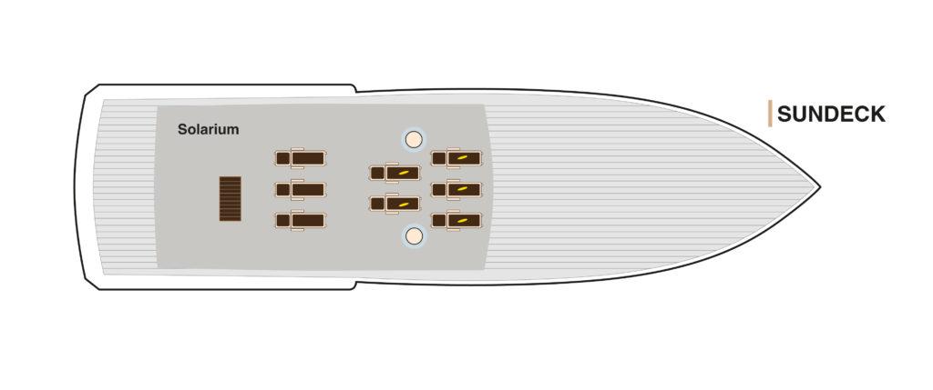 Sun Deck Bonita Yacht