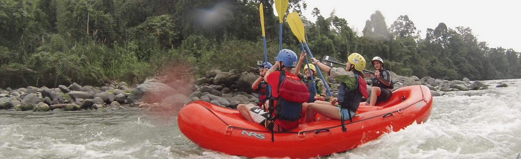 Rafting Toachi & Blanco Rivers