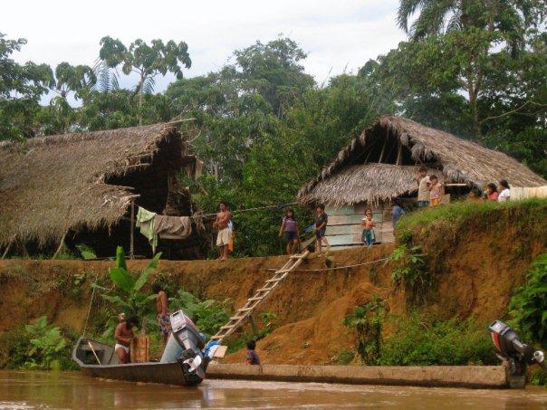 Waorani Village