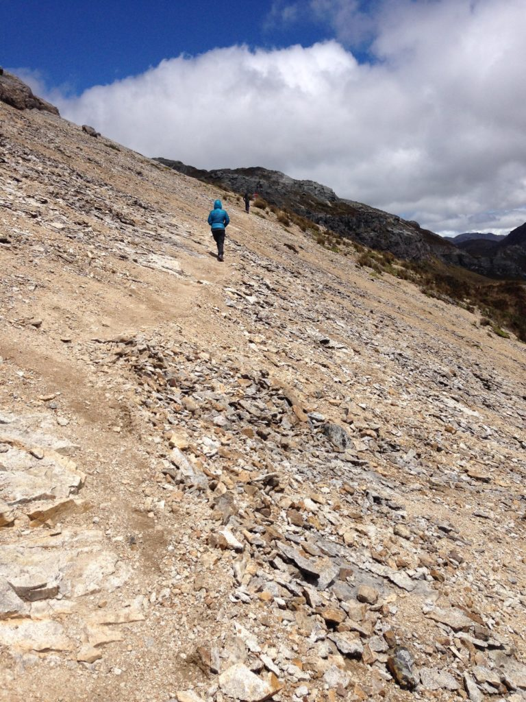 Family Trekking El Cajas National Park