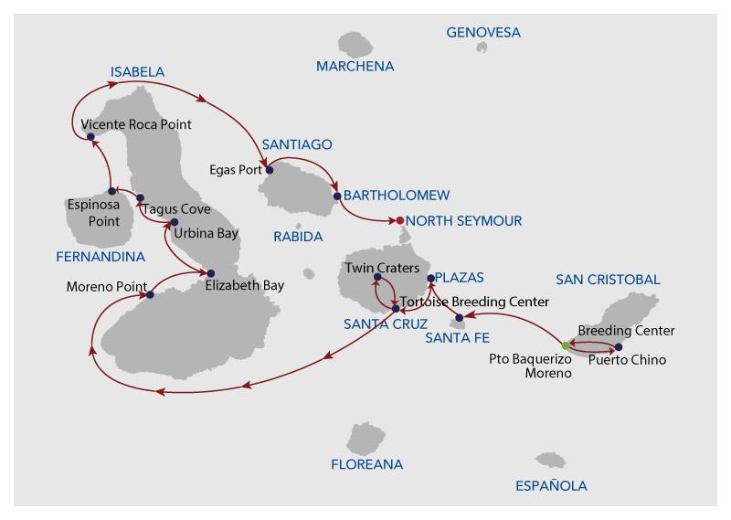 Infinity Itinerary 8 B
