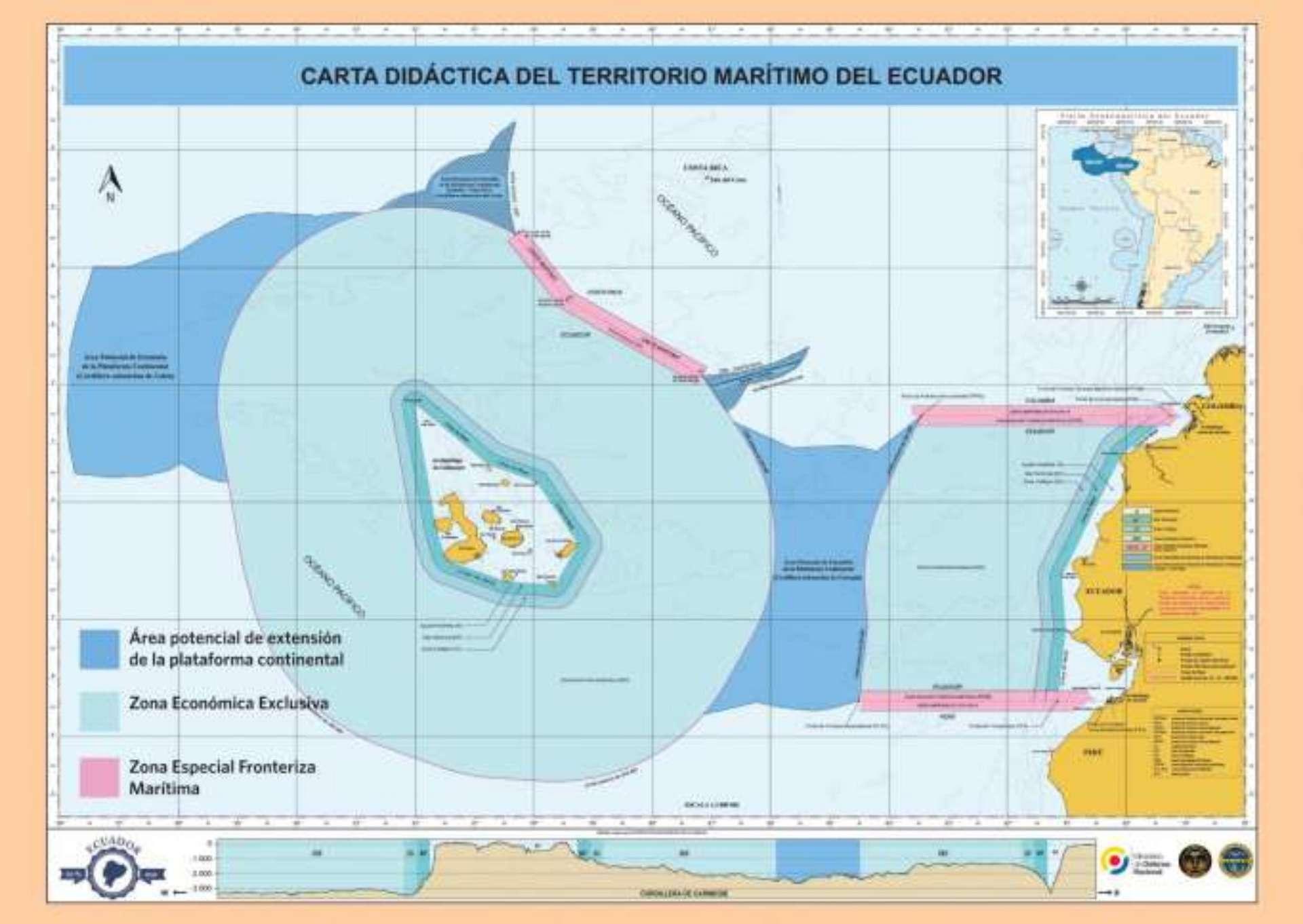 Ecuador and Galapagos marine Territory