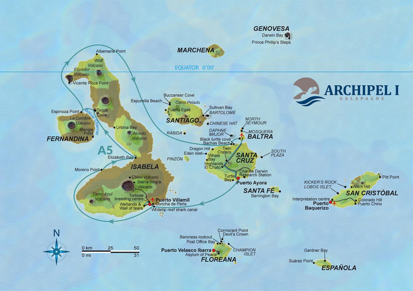 Route A5 Archipel 1