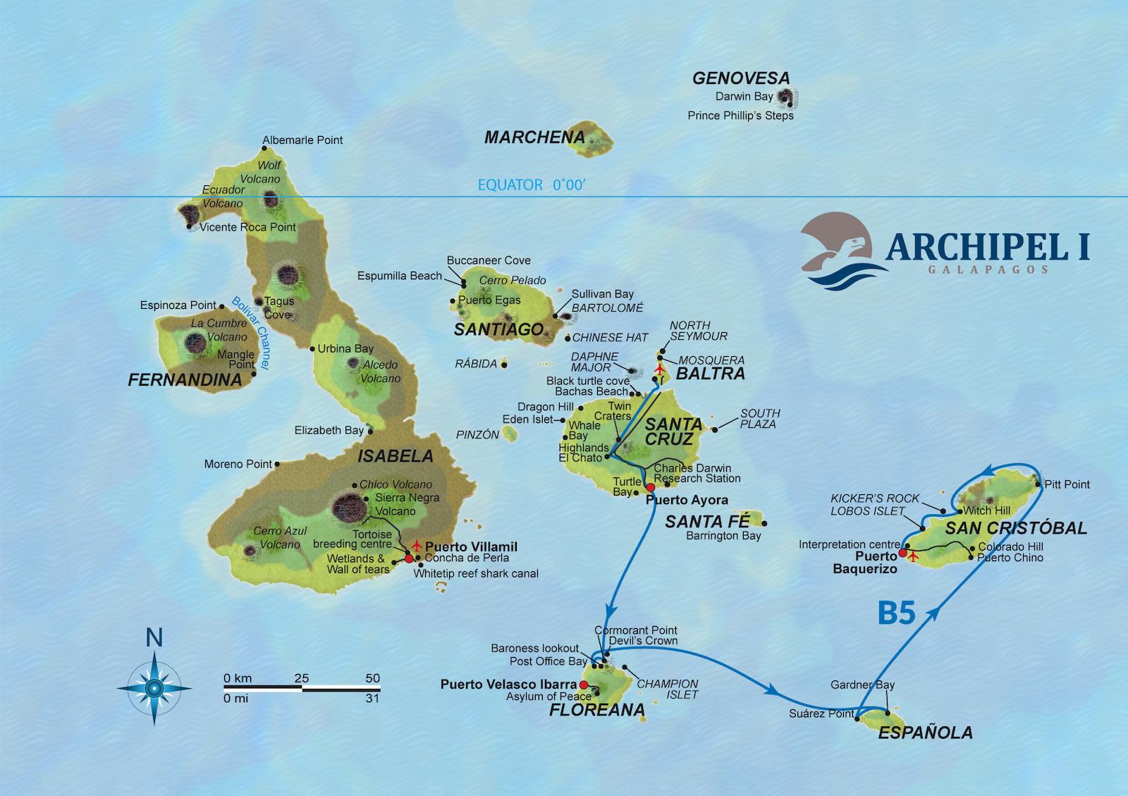 Route 5B Archipel 1