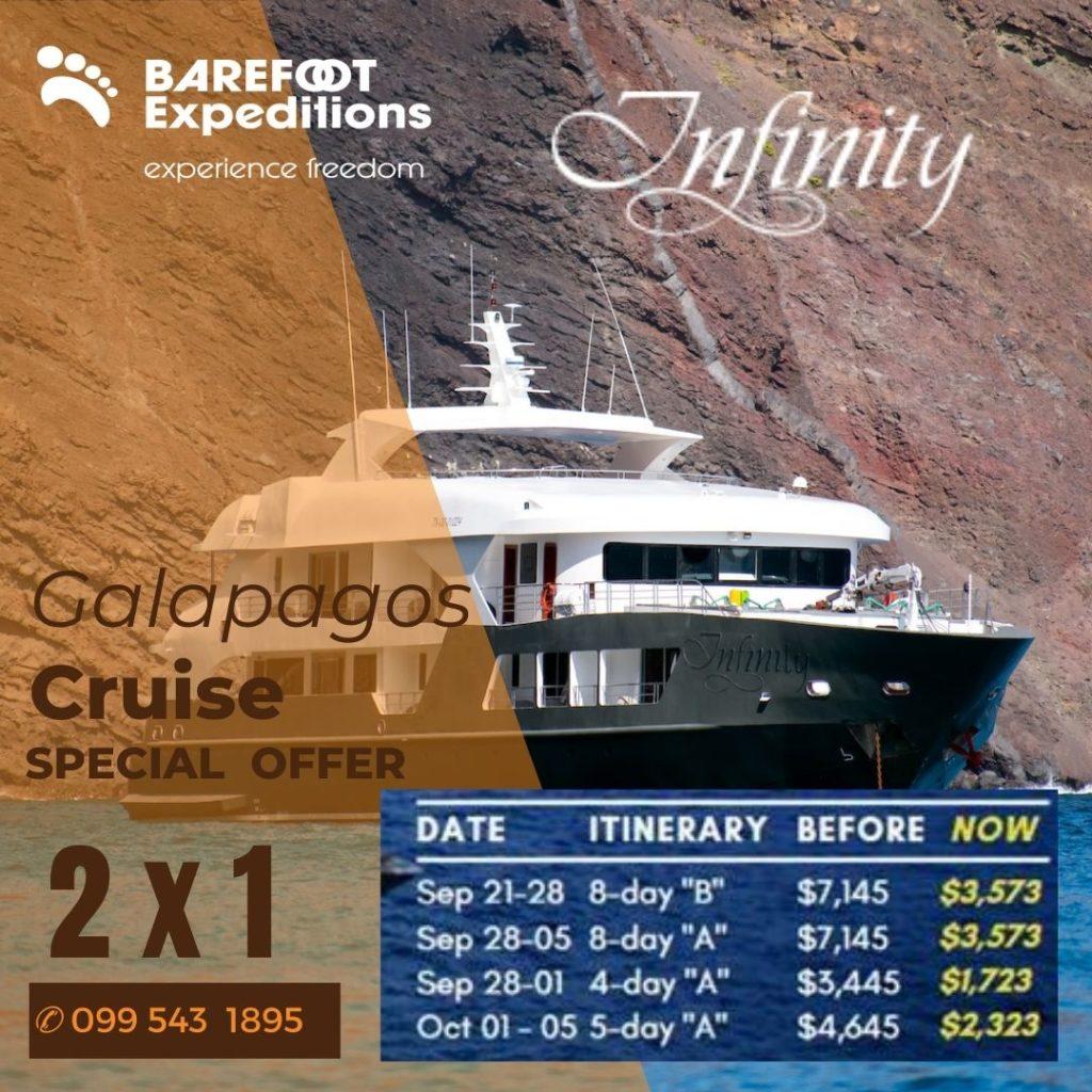 infinity cruise barefoot 2x1